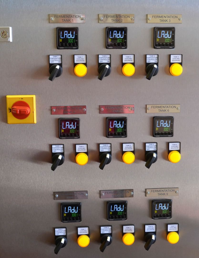 Control Panel at Sambrooks Brewery